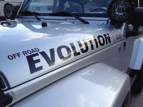 Off Road Evolution Windshield Sticker Off Road Evolution
